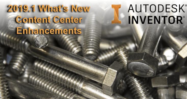 Autodesk Inventor 2019.1 - Content Centre
