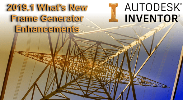 Autodesk Inventor 2019.1 - Frame generator
