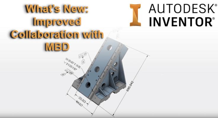 Autodesk Inventor 2019.1 - MBD