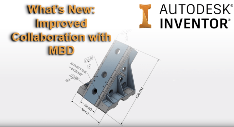Autodesk Inventor 2019.1 - MBD