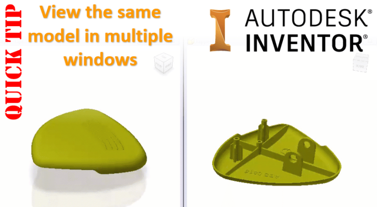 Autodesk Inventor - View your model in multiple windows - Clint Brown