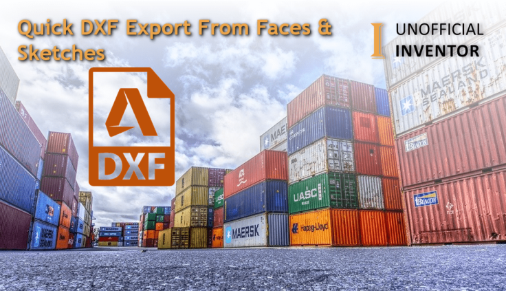@ClintBrown3D Autodesk Inventor export DXF