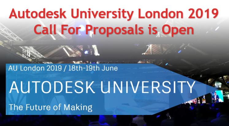 Autodesk University London 2019