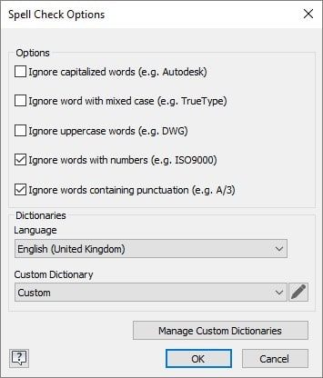 Autodesk Inventor Spell Check