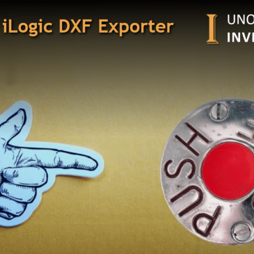 iLogic DXF export