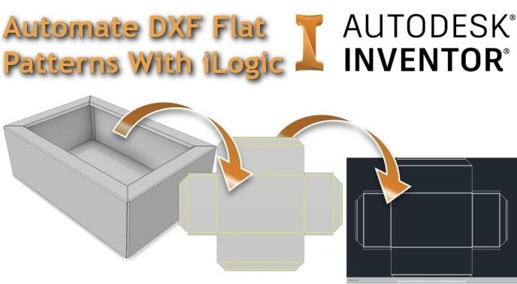 Clint Autodesk Inventor iLogic flat pattern DXF