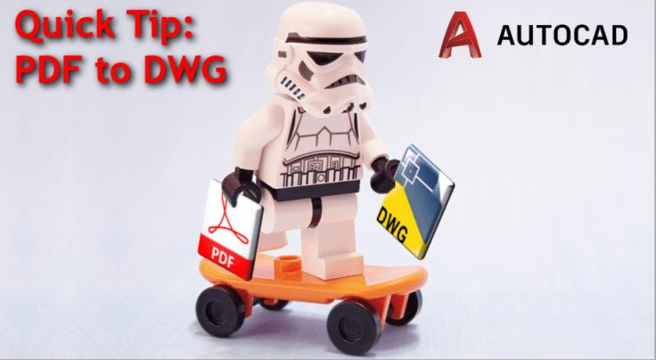 Convert PDF to DWG convert pdf to AutoCAD dxf