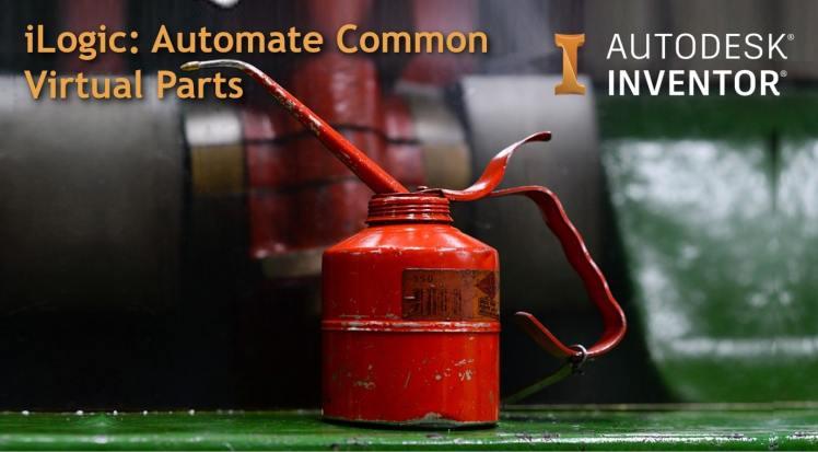 @ClintBrown3D Autodesk Inventor iLogic virtual parts