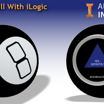 Magic 8 ball Autodesk Inventor iLogic