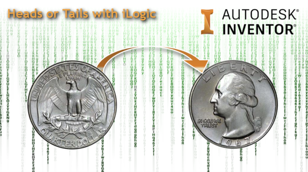 autodesk inventor ilogic heads or tails coin