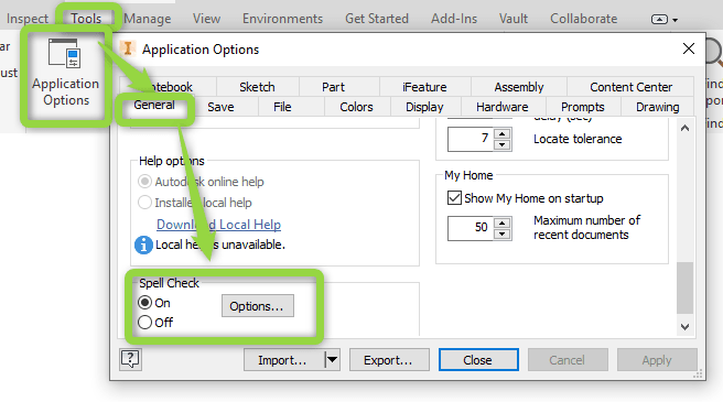 Inventor 2020 1 Update: Spell Checker Now Supports