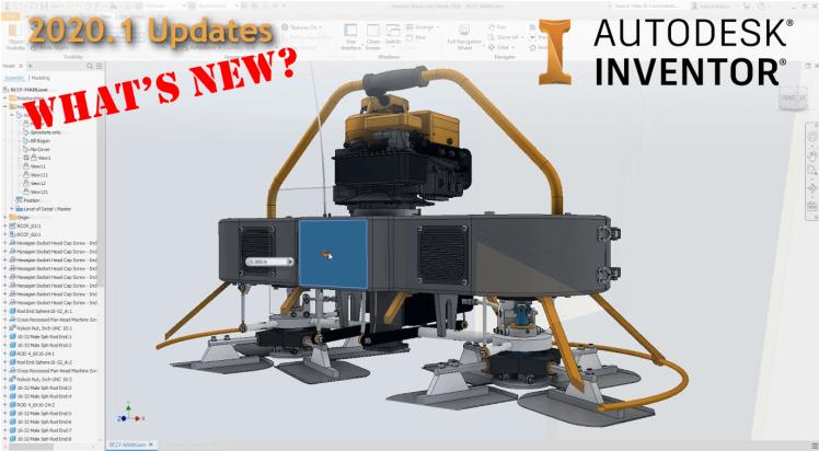 @ClintBrown3D Autodesk Inventor 2020.1 Updates