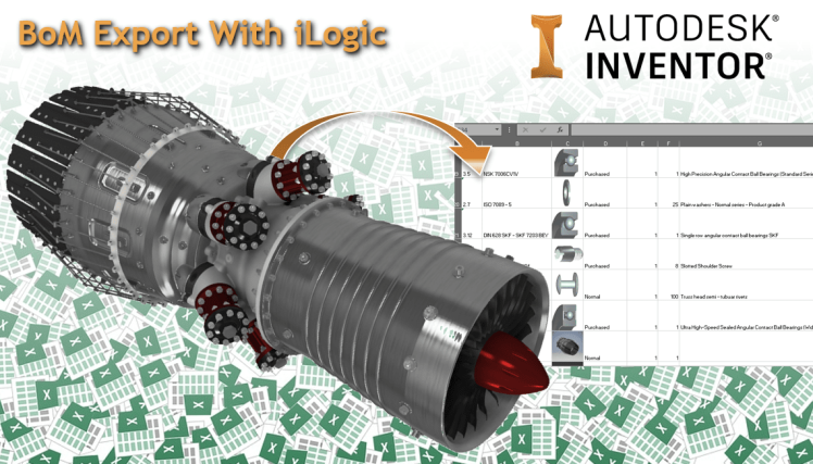 @ClintBrown3D Autodesk Inventor iLogic BoM export