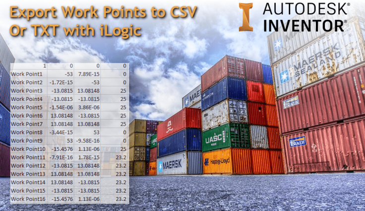 @ClintBrown3D Export Work Points to CSV Or TXT with iLogic